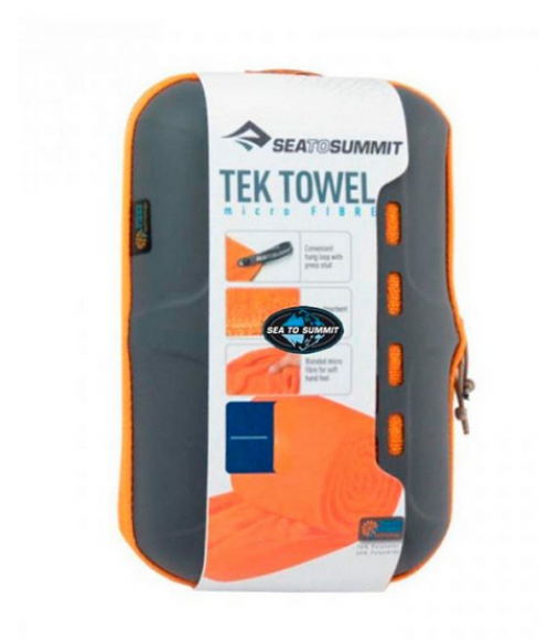 TOALHA ULTRA ABSORVENTE SEA TO SUMMIT TEK TOWEL TAM. P LARANJA