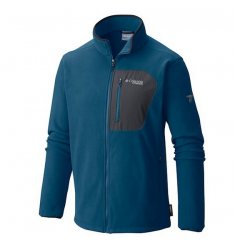 JAQUETA FLEECE COLUMBIA TITAN PASS 2.0 AZUL M