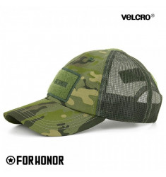 BONÉ TÁTICO RIPSTOP FORHONOR HARDY SCREEN MULTICAM TROPIC